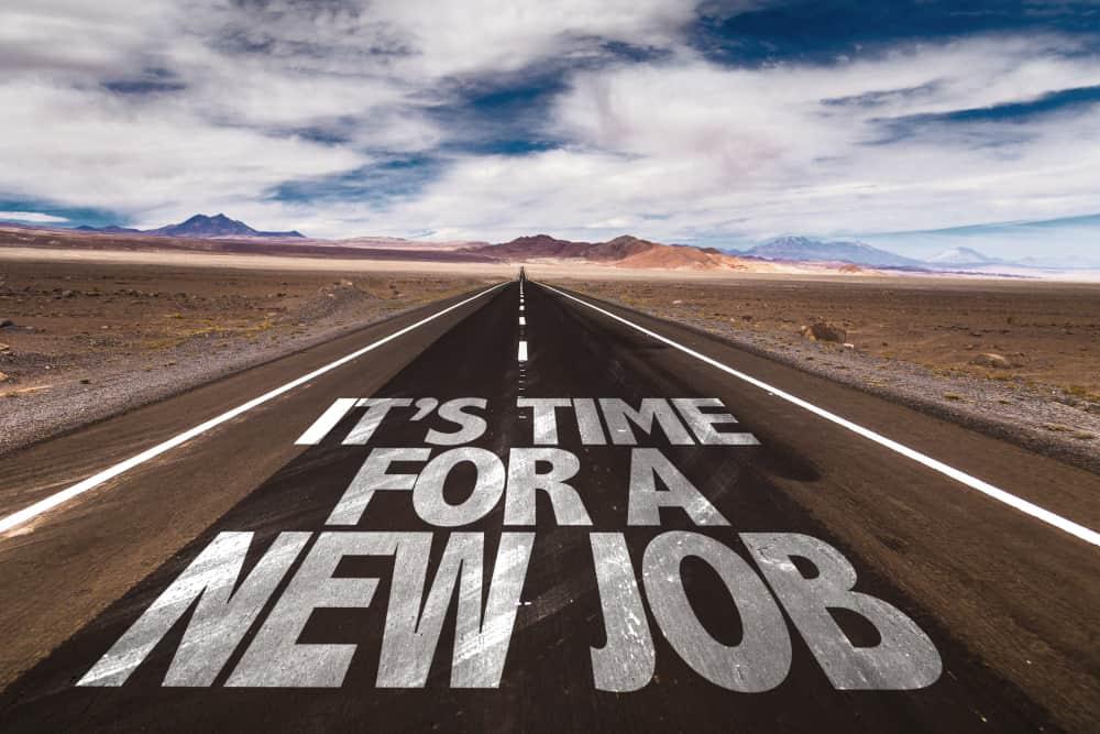 Tid til nyt job